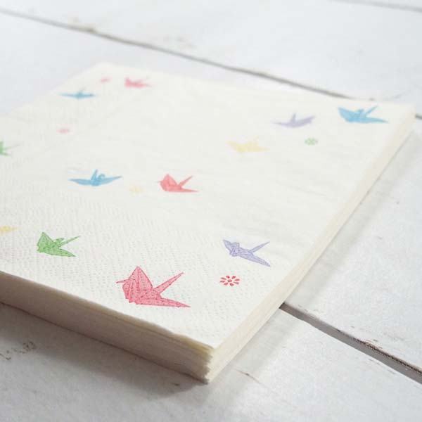 FRONTIA(フロンティア) ペーパーナプキン 折り鶴|pnk-047の商品画像5