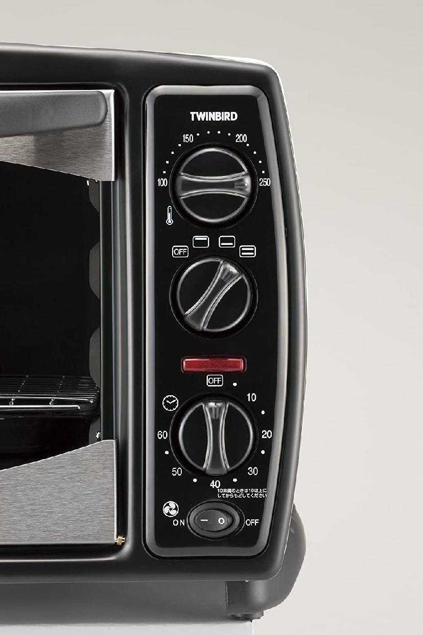 TWINBIRD(ツインバード) ノンフライオーブン ホワイト TS-4119Wの商品画像4