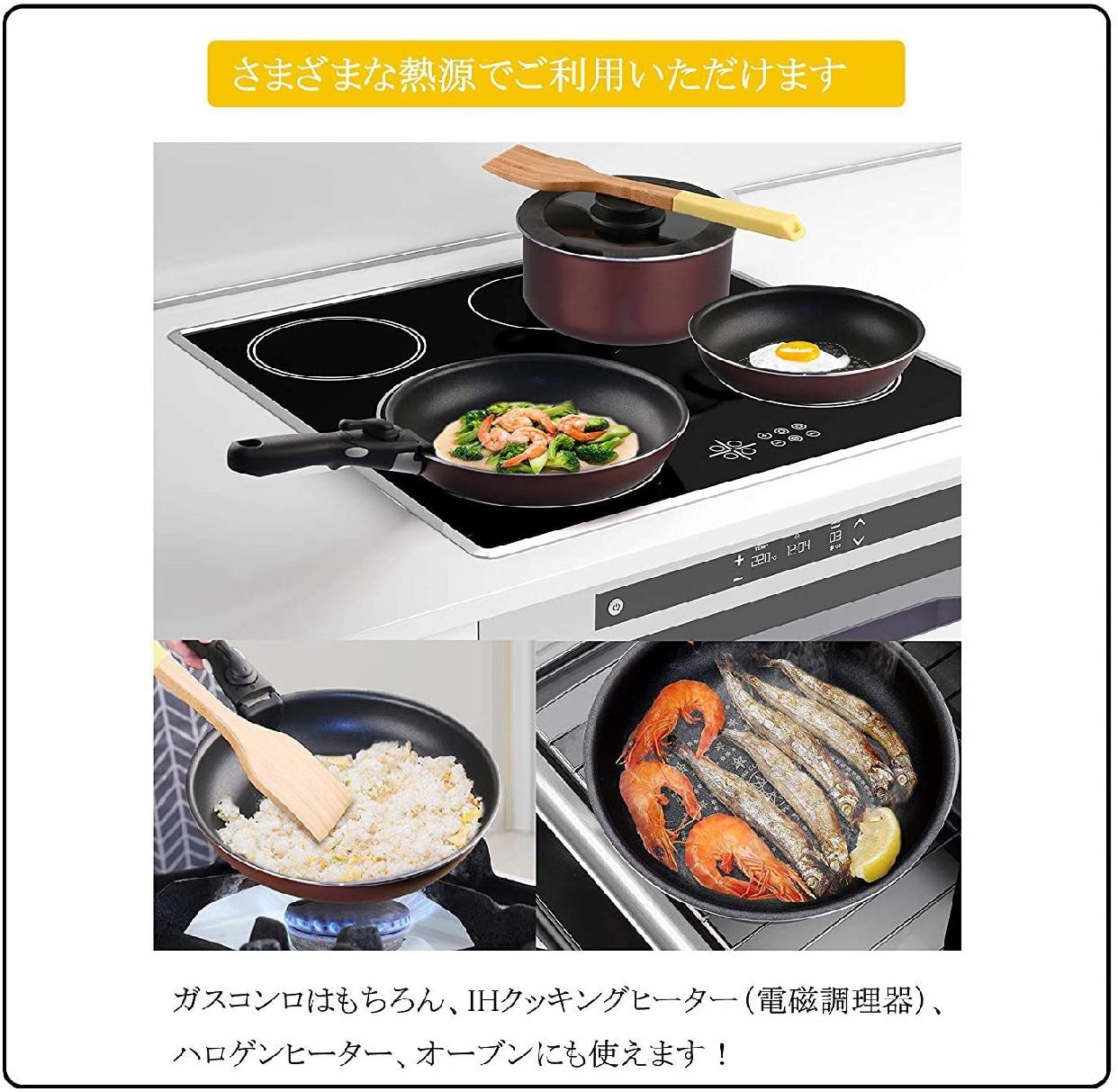 COOKSMARK(クックスマーク)ダイヤモンドコートパン 6点セットの商品画像4