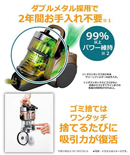 Panasonic(パナソニック) サイクロン掃除機  MC-SR37の商品画像5