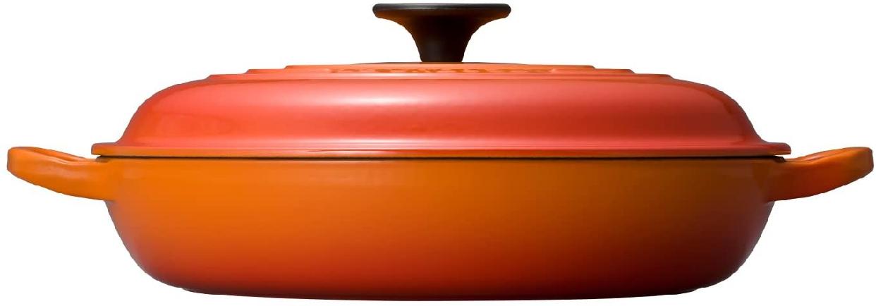 LE CREUSET(ル・クルーゼ) ビュッフェ・キャセロール 26cm オレンジの商品画像