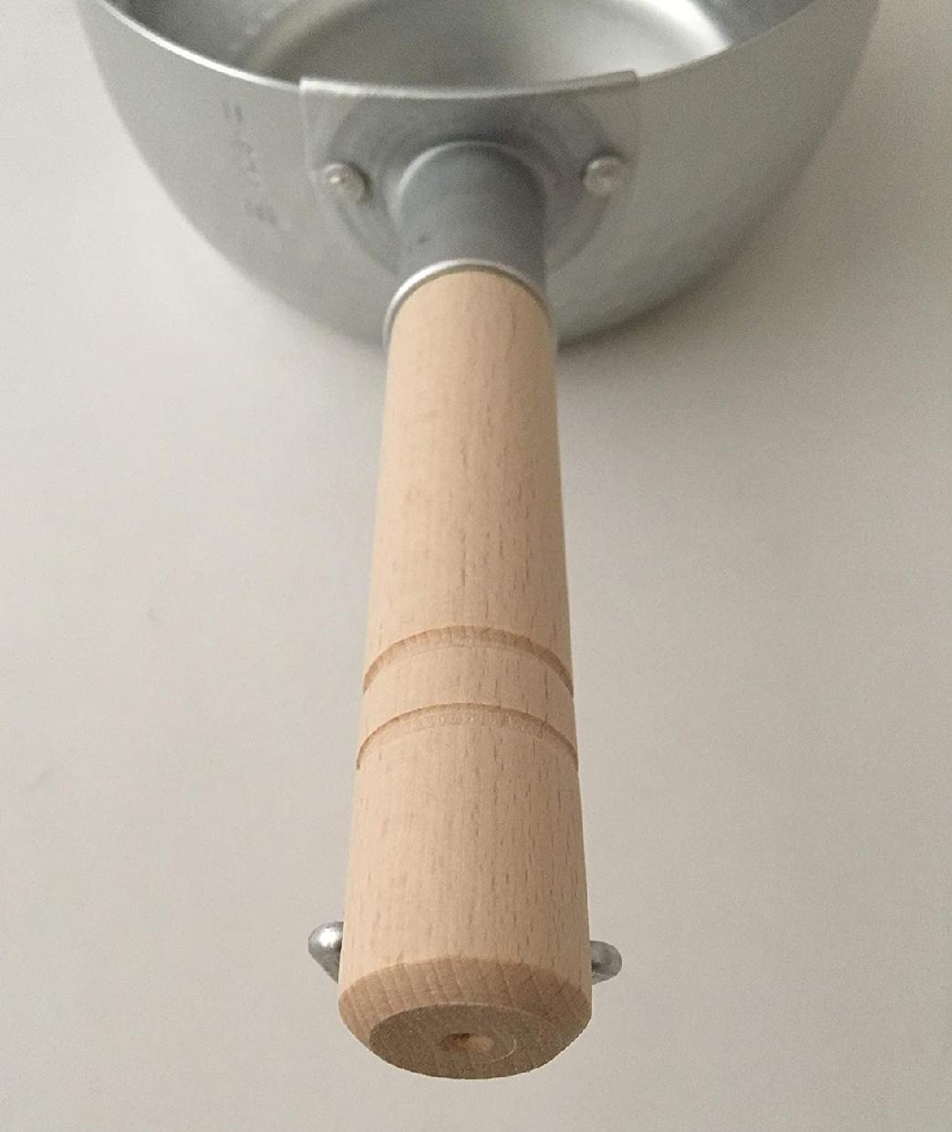 和の職人 谷口金属 日本製 和の職人 誉ゆきひら鍋 シルバー 16cmの商品画像2