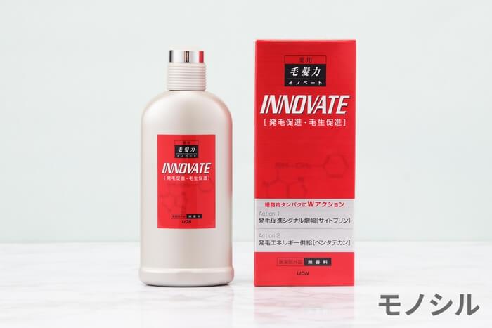 薬用毛髪力イノベート(やくようもうはつりょくいのべーと)育毛剤の商品画像1