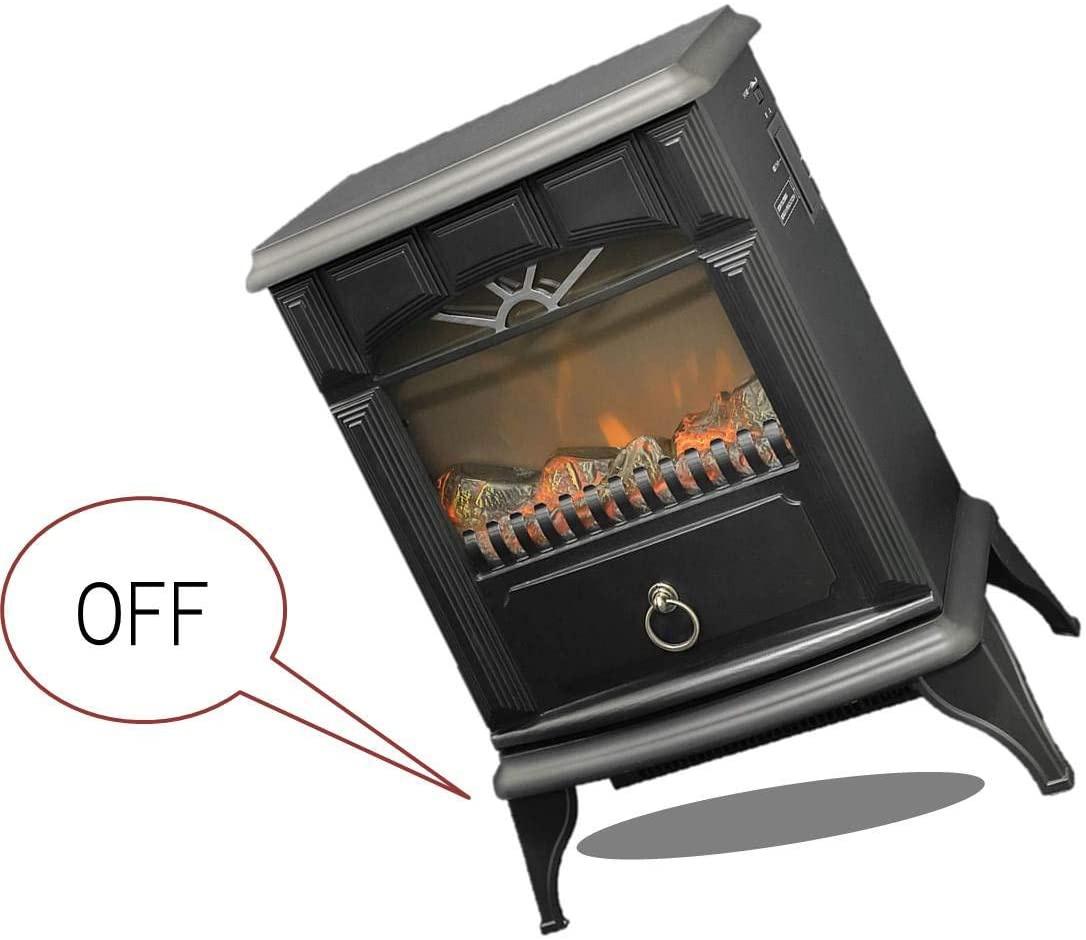 山善(YAMAZEN) 暖炉型ヒーター YDH-SK10の商品画像3