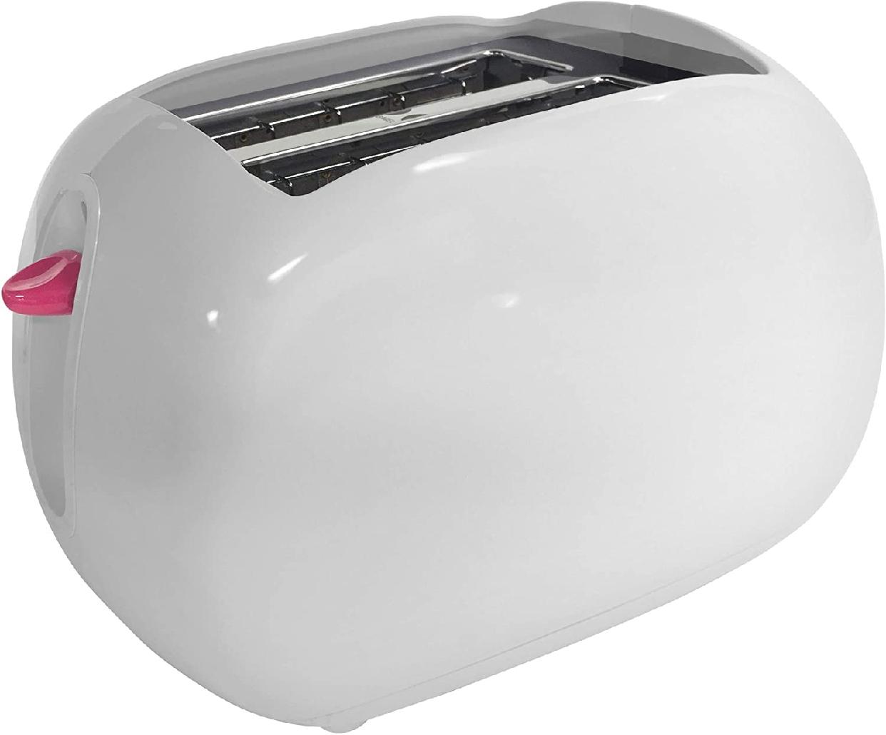 Hello Kitty(ハローキティ) ポップアップトースター 2-Slice Wide slot toaster  ホワイト KT5211の商品画像5