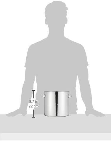 江部松(EBM) モリブデン 寸胴鍋・キッチンポット (目盛付)20cm 板手付の商品画像4