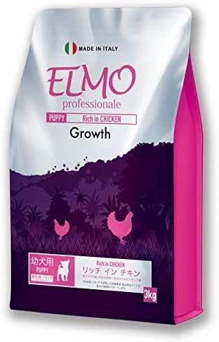 ELMO(エルモ) リッチイン チキン グロース 幼犬用 離乳期 ~ 12ヶ月 3kg 仔犬向けの商品画像