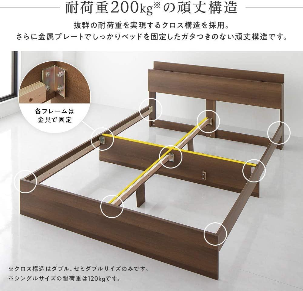 BEST VALUE STYLE(ベストバリュースタイル) 引き出し収納ベッド 連結 Serestの商品画像9