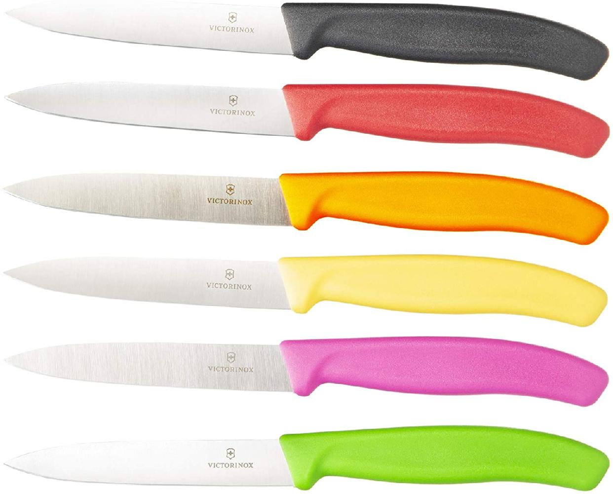 VICTORINOX(ビクトリノックス) スイスクラシック パーリングナイフ10cm 6.7703E BLACKの商品画像8