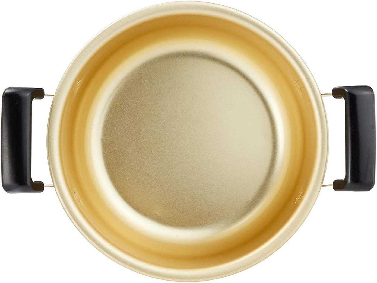 PEARL METAL(パールキンゾク)クックオール ゴールド 18cm H-1892の商品画像3