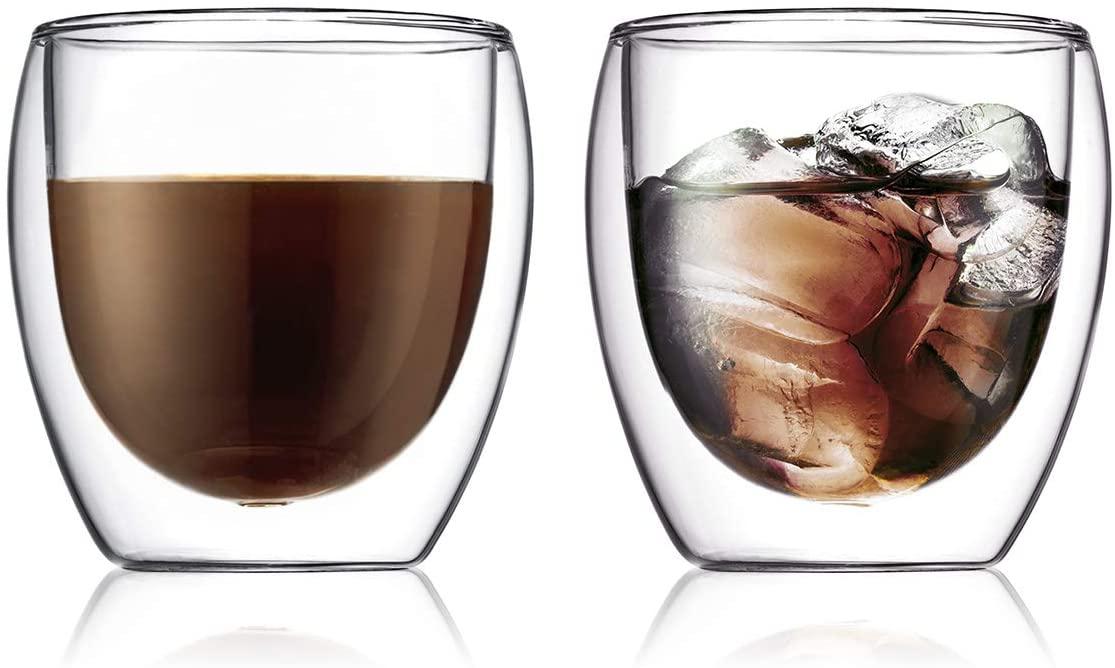 PAVINA(ぱゔぃーな)ダブルウォールグラス 2個セット 250ml 4558-10Jの商品画像