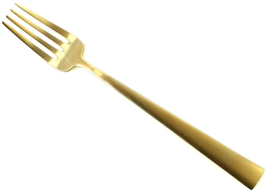 Cutipol(クチポール) DUNA マット ゴールド デザートフォーク CT-DU-07-GBの商品画像