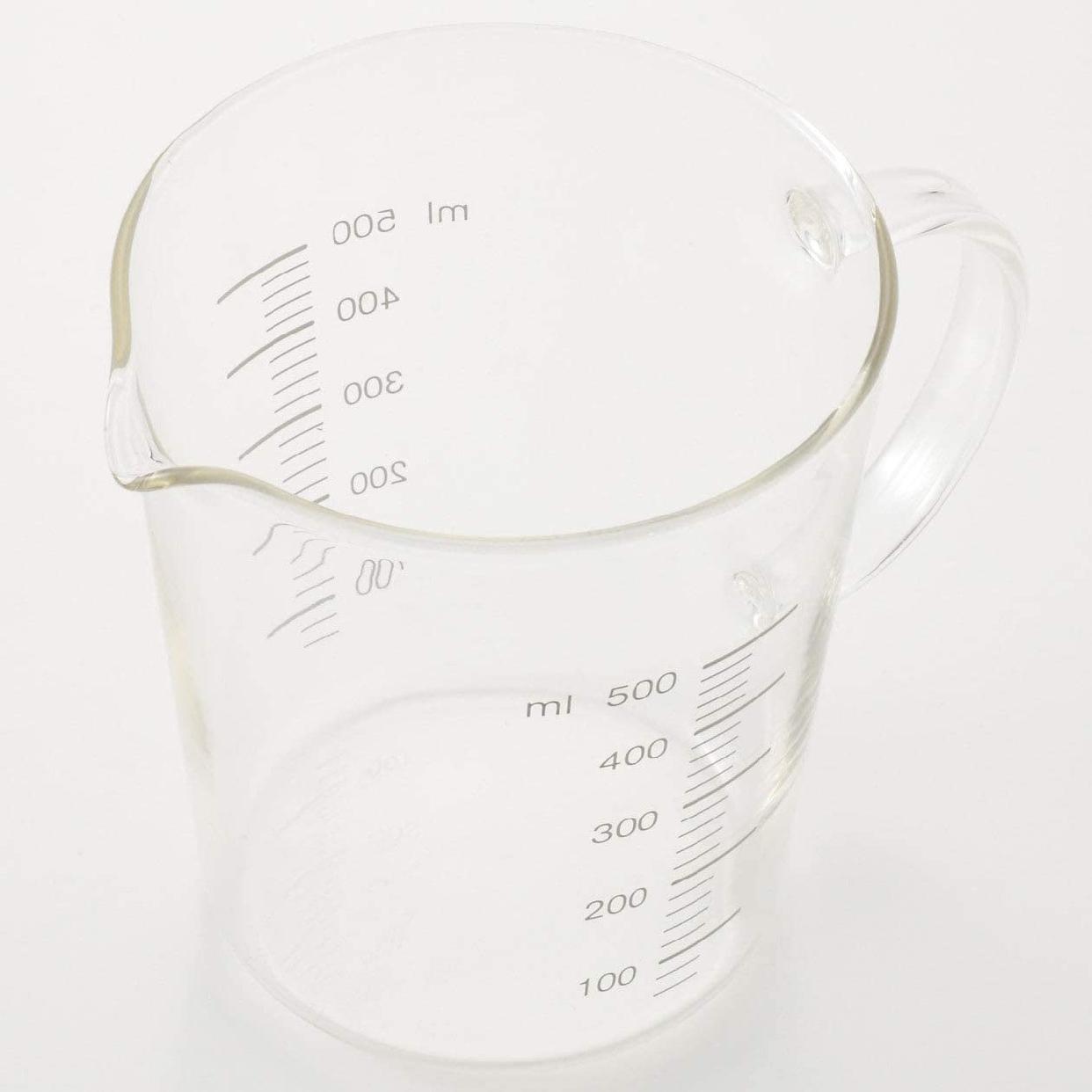 無印良品(MUJI) 耐熱ガラスメジャーカップ 500mlの商品画像3