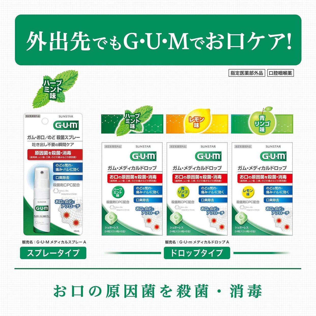 GUM(ガム) メディカルドロップの商品画像9
