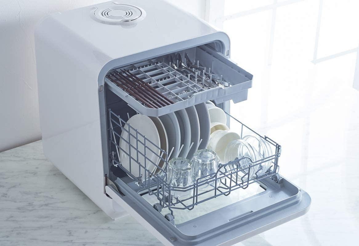 VERSOS(ベルソス) 食器洗い乾燥機 ホワイト VS-H021の商品画像4