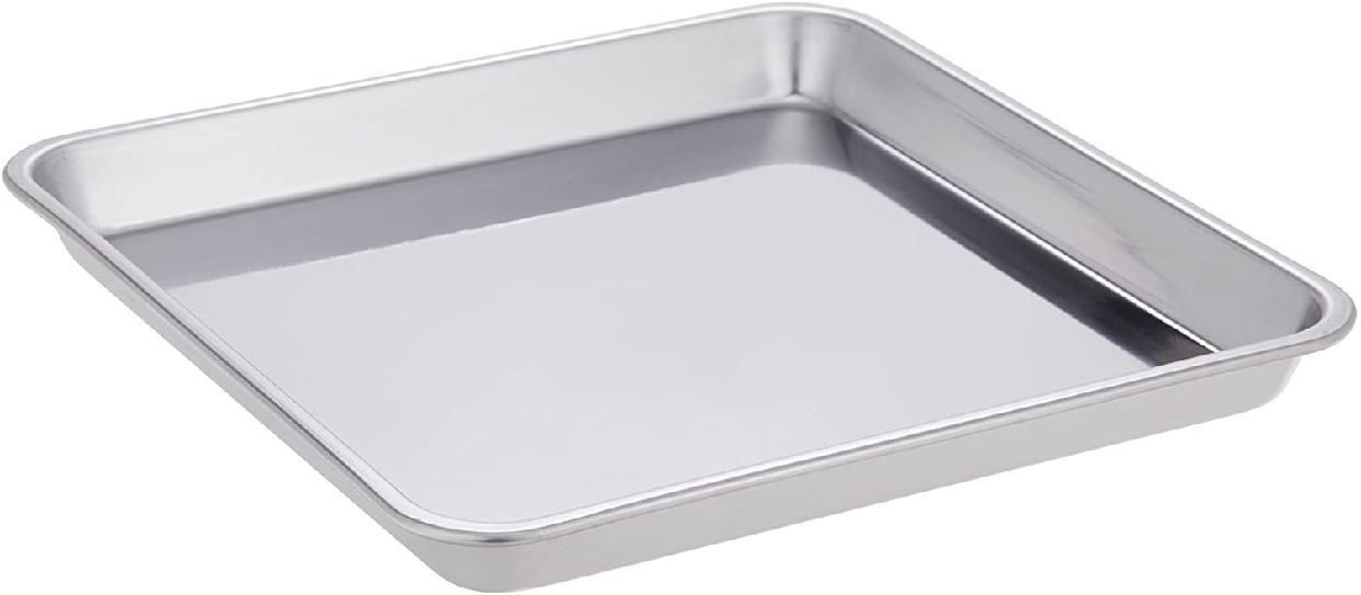 大屋金属(おおやきんぞく)18-0ステンレス 正角盆 24cmの商品画像