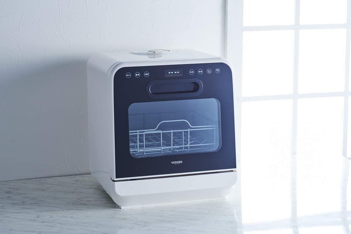 VERSOS(ベルソス) 食器洗い乾燥機 ホワイト VS-H021の商品画像7