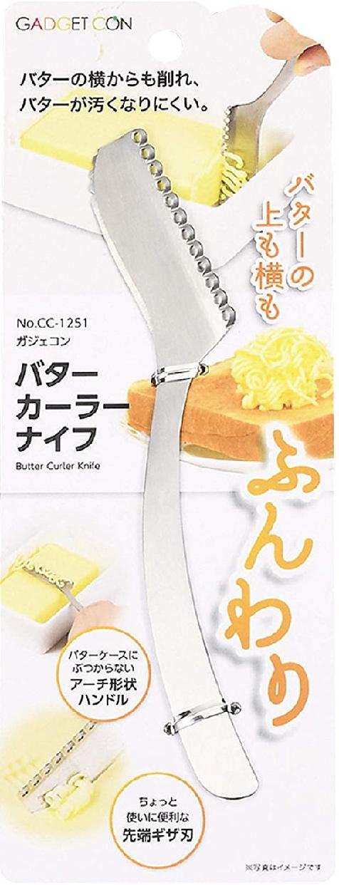 GADGETCON(ガジェコン)CC-1251 バターカーラーナイフ シルバーの商品画像