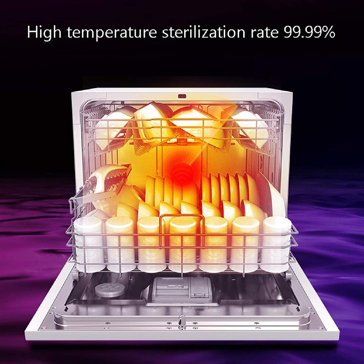 グオダシタンセン ビルトイン食器洗い乾燥機 ホワイトの商品画像5
