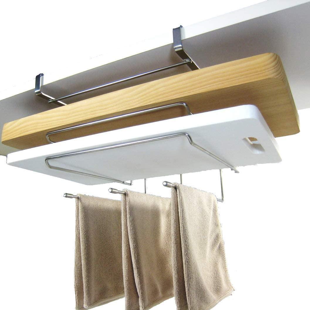 RS Hanger Studio(アールエスハンガースタジオ)吊り下げラック まな板ホルダー フキン掛けの商品画像