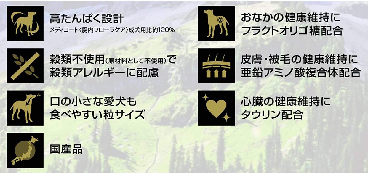 メディコート ドッグフード グレインフリー チキンテイストの商品画像6