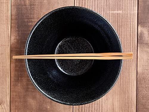 TABLE WARE EAST.(テーブルウェアイースト) どんぶり台形 ボーダー 黒耀 19cmの商品画像3