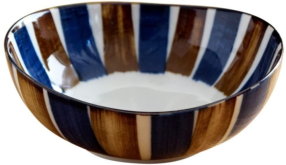 Tableware East(テーブルウェアイースト) 中鉢 青茶サビ十草の商品画像