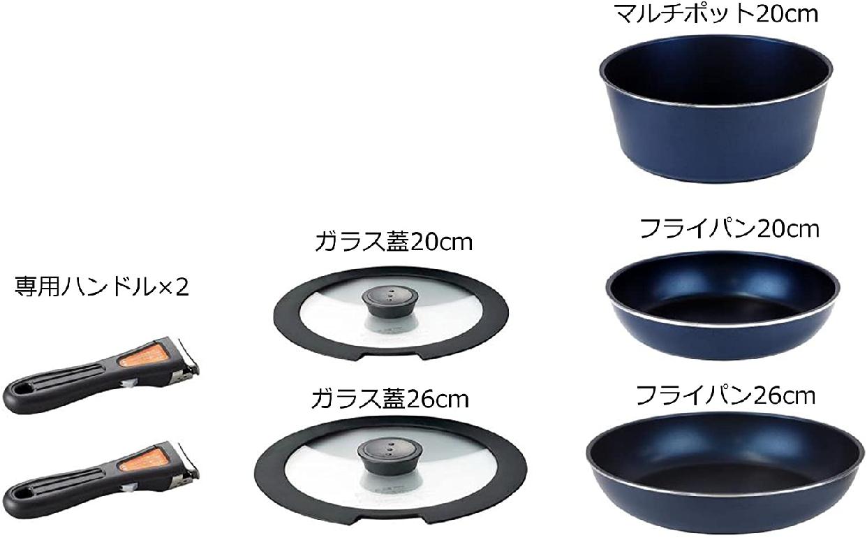パール金属(ぱーるきんぞく)ダイヤモンドコート 7点セットの商品画像2