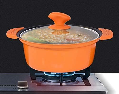 COOKSMARK(クックスマーク)両手鍋 20cm オレンジの商品画像9
