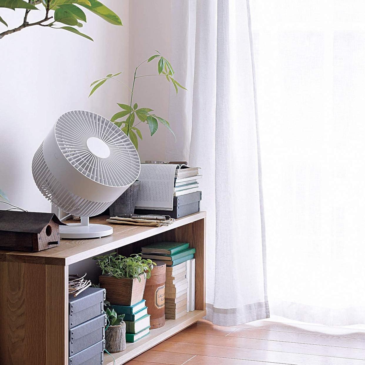 無印良品(MUJI) サーキュレーター(低騒音ファン・大風量タイプ) AT-CF26R-Wの商品画像16