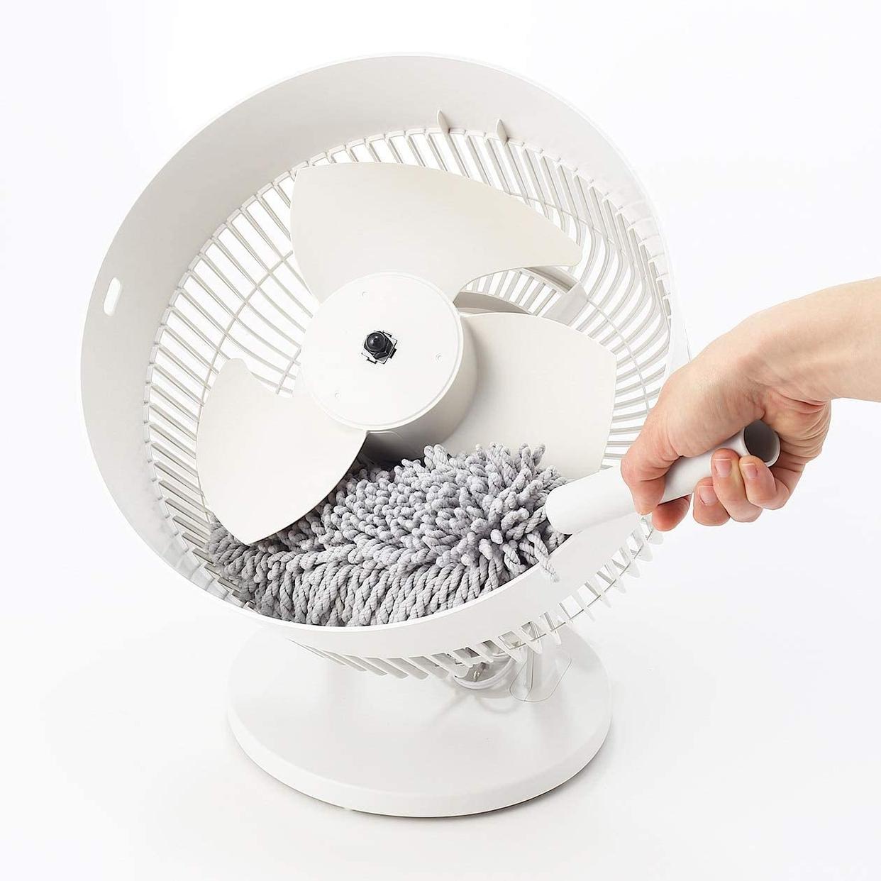 無印良品(MUJI) サーキュレーター(低騒音ファン・大風量タイプ) AT-CF26R-Wの商品画像7