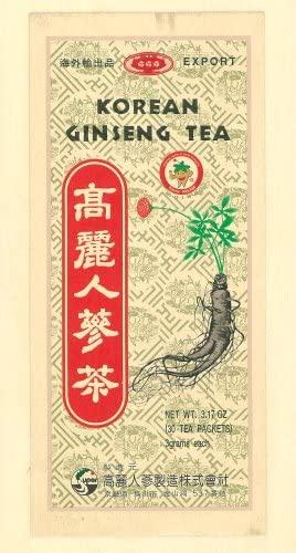 秋山産業 高麗人参茶顆粒の商品画像