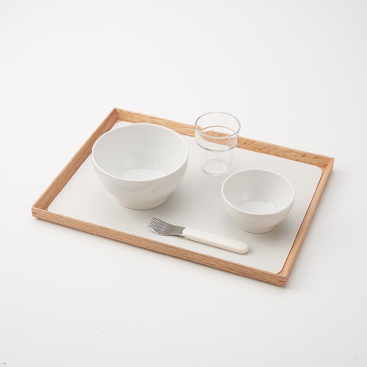 無印良品(MUJI) シリコーンランチョンマット ホワイト 82213461の商品画像4