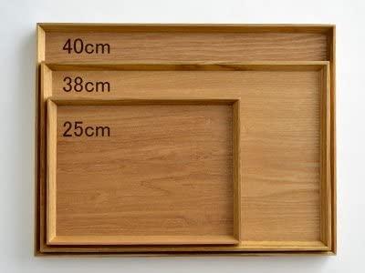 Table Ware East(テーブルウェアイースト)木製 ナチュラルスタックトレー44cm(LL)の商品画像6