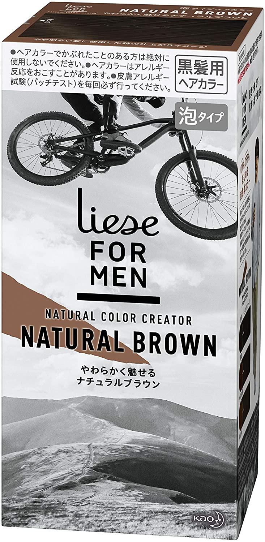liese for men(リーゼフォーメン)ナチュラルカラークリエイターの商品画像