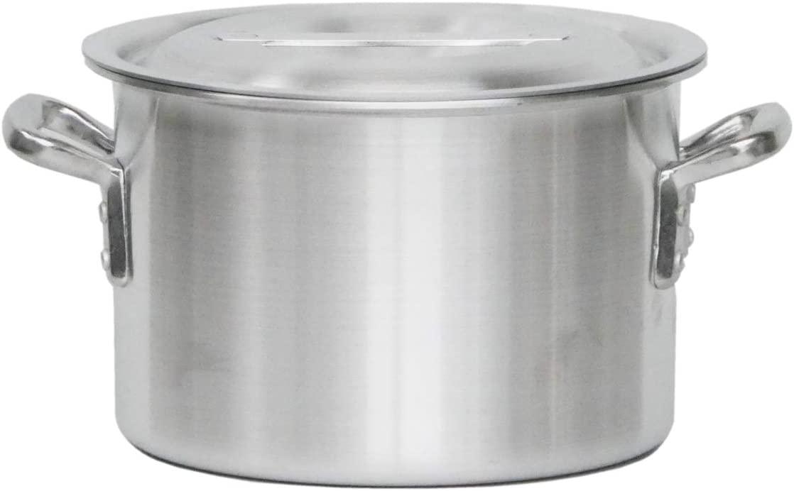 KIPROSTAR(キプロスター) 業務用アルミ半寸胴鍋(蓋付)の商品画像