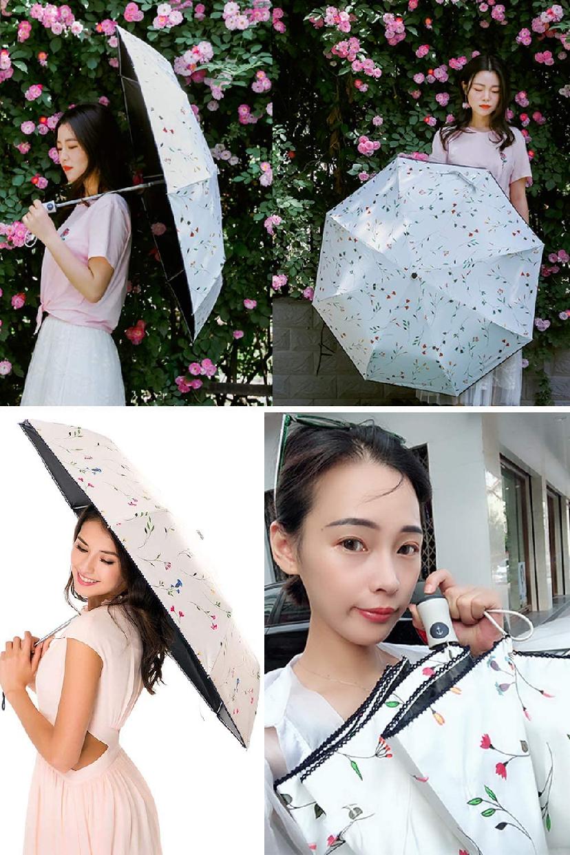 VASLON(バスロン) 日傘 晴雨兼用 折りたたみ傘の商品画像6