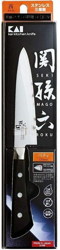 関孫六 茜(セキノマゴロク アカネ) ペティ120mm AE2909の商品画像3