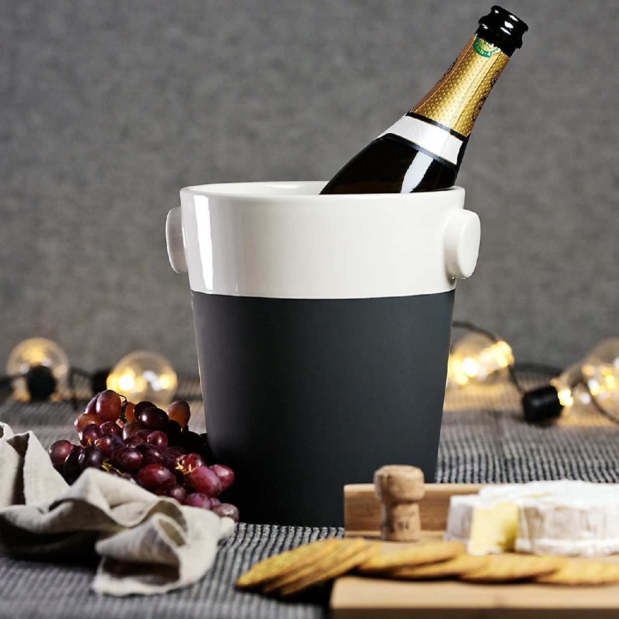 Magisso(マギソ) シャンパンクーラー ホワイトライン 70636の商品画像