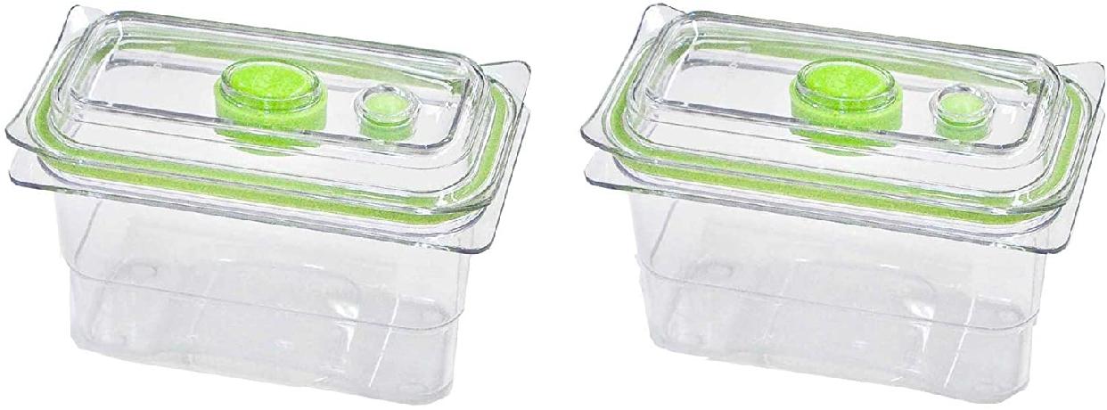 FoodSaver(フードセーバー) 真空フレッシュボックス サイズ2(2個セット)の商品画像