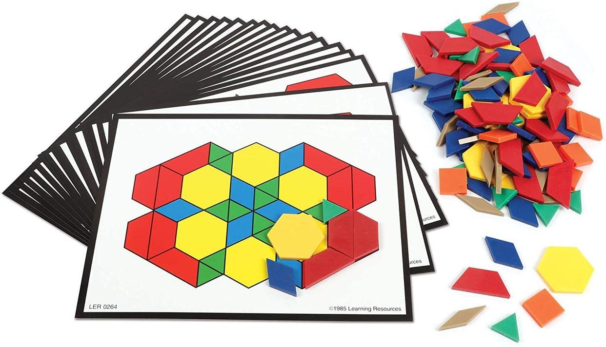 Learning Resources(ラーニングリソーシズ) パターンブロックの商品画像9