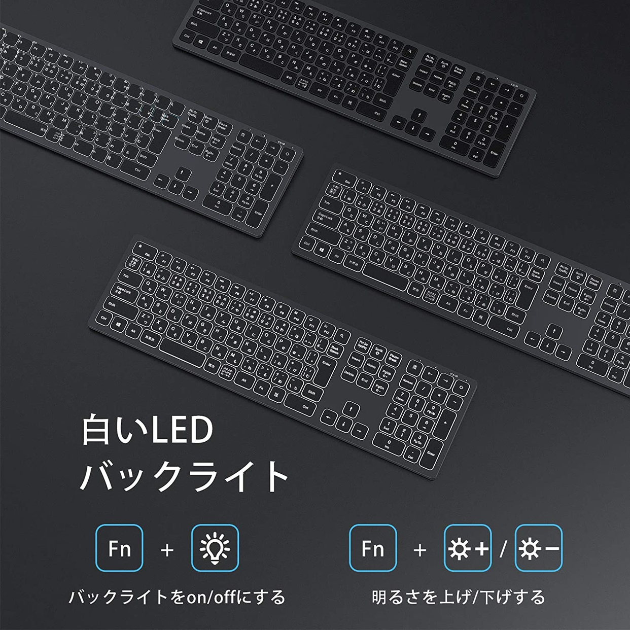 seenda Bluetooth キーボードの商品画像2