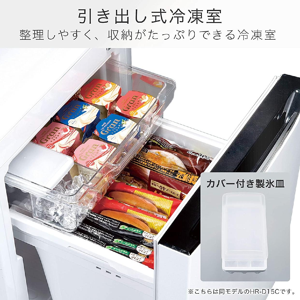 Hisense(ハイセンス)150L 冷凍冷蔵庫 HR-D15Cの商品画像6