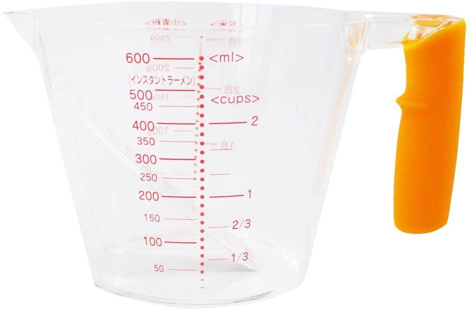 貝印(KAI) 見やすい計量カップ(600ml) DH7024の商品画像2