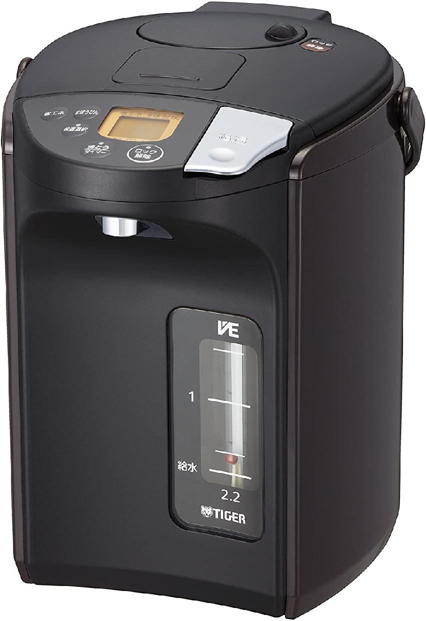 TIGER(タイガー)蒸気レスVE電気まほうびん PIS-A220の商品画像