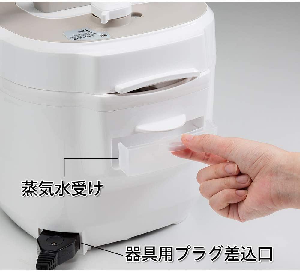 KOIZUMI(コイズミ)マイコン電気圧力鍋 KSC-4501の商品画像4