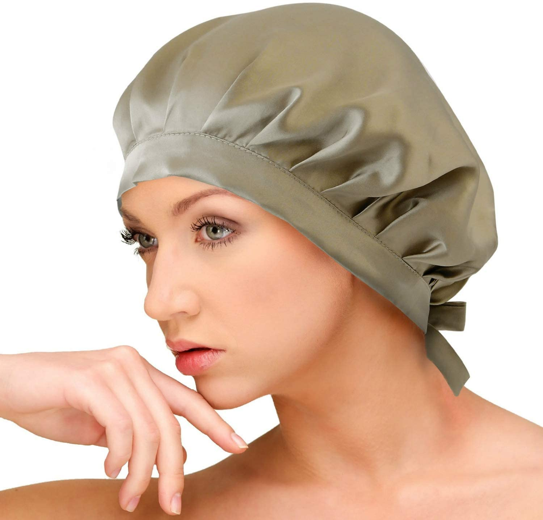 AQshop(エーキューショップ) comfort silk ロングヘア用 シルク 100% ナイトキャップ