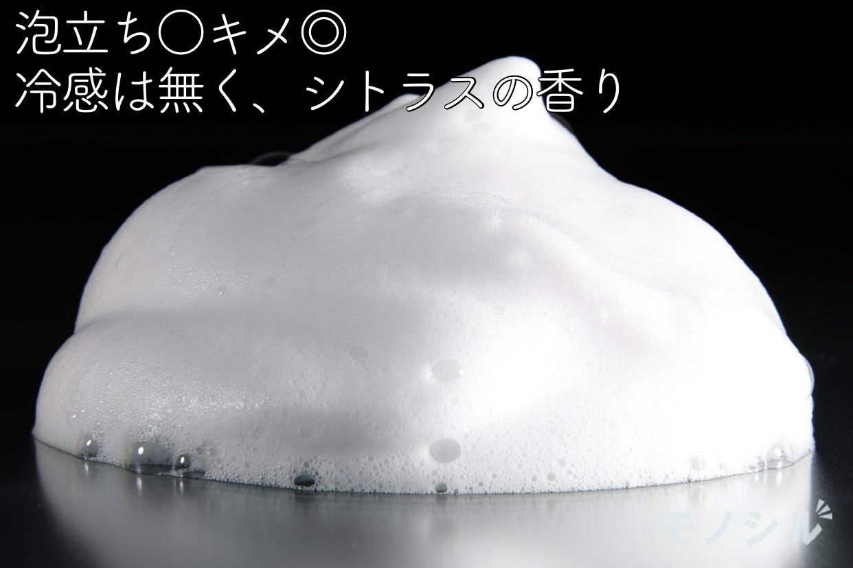 HMENZ(ヘンツ) メンズスカルプシャンプーの商品画像4 商品の泡立ち