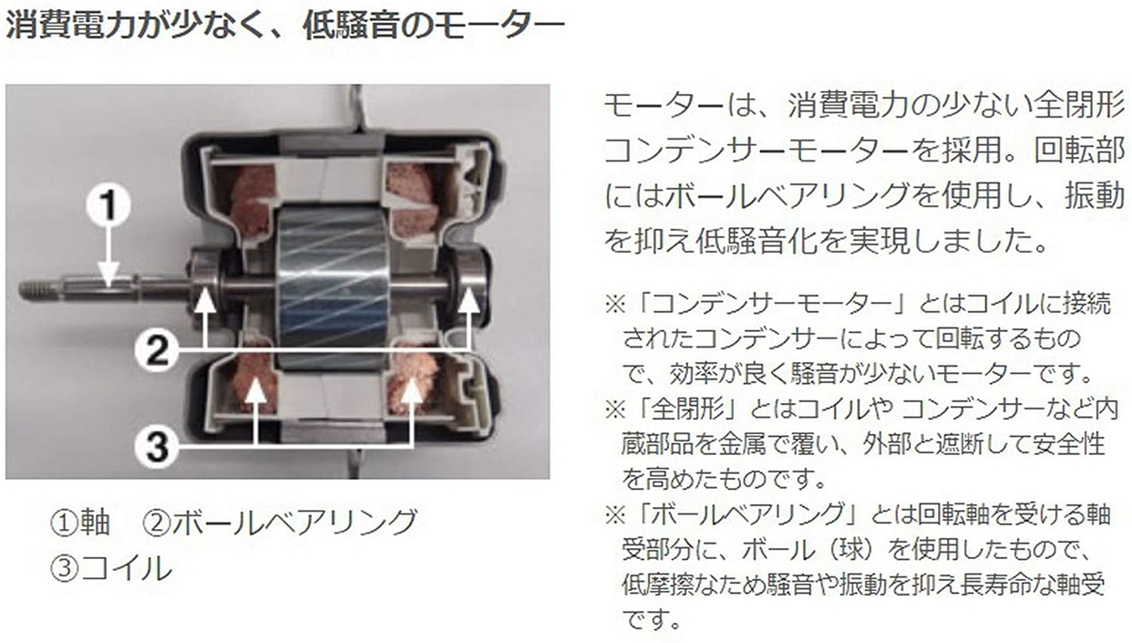 無印良品(MUJI) サーキュレーター(低騒音ファン・大風量タイプ) AT-CF26R-Wの商品画像19