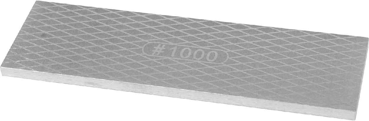 SK11(エスケー11) 両面ダイヤモンド砥石 グレー #400 #1000 204×65×7mmの商品画像2